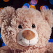 Teddy bear on bright background - Zdjęcie stockowe