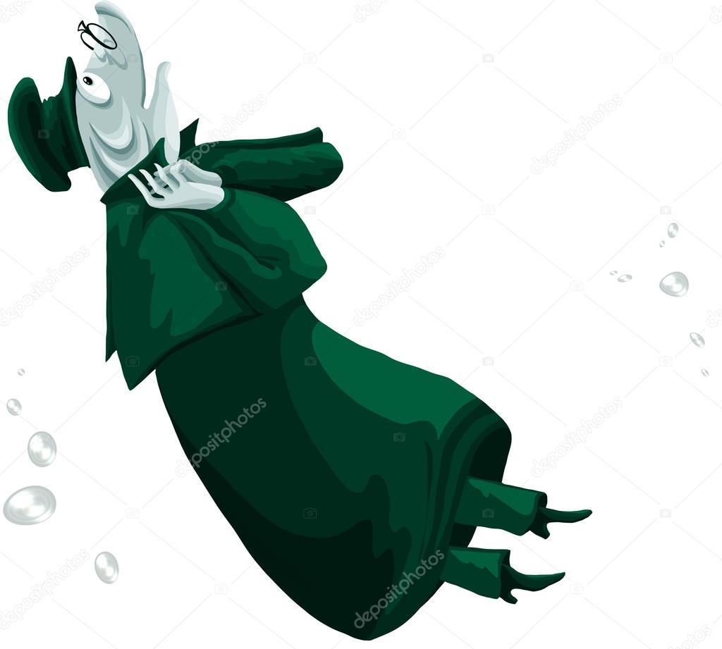 Pesci luccio slicker personaggio dei cartoni animati stile for Sfondo animato pesci