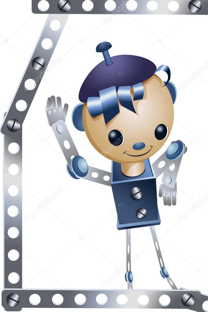 Affiche Garcon Robot : jouet garçon fer robot personnage cartoon ...