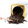 Tea leaves - Stock Photo