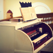 Vintage photo of piano — Stock Photo #23865217
