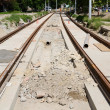 Railway construction — Stock Photo #27678469