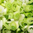 Fresh chopped green onion — Stock Photo