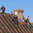 Mworking on new roof — Stock Photo #37158817
