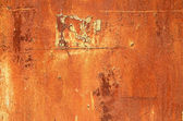 Metal corroded texture, background  — ストック写真