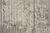 Grunge striped concrete wall textured  — Stock Photo