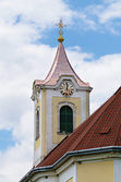 Věž s hodinami — Stock fotografie