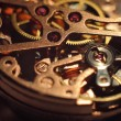 Stock Photo: Watch mechanism