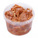 Marinovynny shish kebab from a chicken breast — Stock Photo