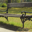 Bench in park — Stock Photo #33422841