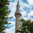 Big temple building minaret tower — Stock Photo #33426959