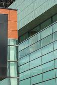 Modern architecture building windows glass refflection — Stock Photo