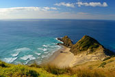 Oceans melting at Cape Reinga — Stock Photo
