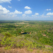 Panoramic view of central Sri Lanka plain - Stock Photo