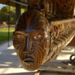 Maori carving — Stock Photo #19942417