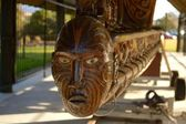 Maori carving — Photo
