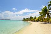 Idyllic beach for relaxing — Stock Photo