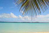 Idílica playa para relajarse — Foto de Stock