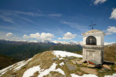 Christianity on the summit — Stock Photo