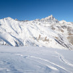 ������, ������: Enjoying powder snow