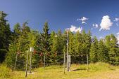 Alpine weather station — Stock Photo