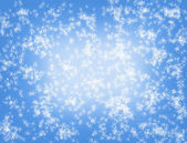 Light blue fantasy abstract snow background — Stockfoto