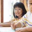 Japanese children drawing - Stock Photo