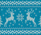 Sweater with deer — Stock Vector