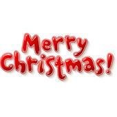 χέρι γράμματα στολισμένος καλά χριστούγεννα σημάδι — Διανυσματικό Αρχείο