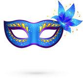 Maska wektorowa weneckiego karnawału — Wektor stockowy