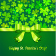 Saint Patrick's day greeting card — Imagen vectorial