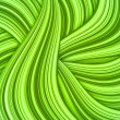 Green hair waves abstract background - Photo