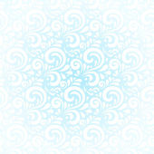 Blue winter curls vector abstract background — Stock Vector