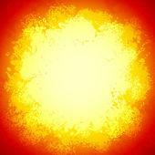 красный яркий векторный гранж красочные взорваться — Cтоковый вектор