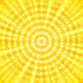 抽象的な太陽ベクトル波背景 — ストックベクタ