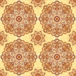 Ornate napkin background inindian style - Foto Stock