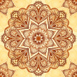 Ornate vintage vector napkin background - Vettoriali Stock