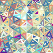 Triangles abstraits tachetés vector background — Vecteur