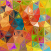 Mottled abstract triangles vector background — Stock Vector