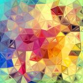 Triángulos abstractos coloridos vector fondo — Vector de stock