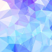 Abstract ice triangles vector background — Stock Vector