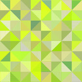 Abstract triangles vector green background — Stock Vector