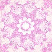 розовый богато вектор лейси бесшовный фон — Cтоковый вектор