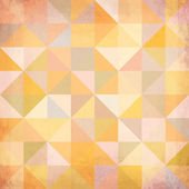 Abstract triangles grunge vector background — Stock Vector