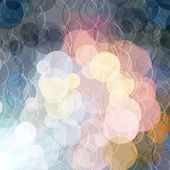 Abstract color shining circles vector background — Stock Photo