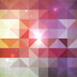 Abstract geometry triangles shining pattern — Stock Photo