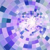абстрактные синий блестящий фон тоннель круга — Cтоковый вектор