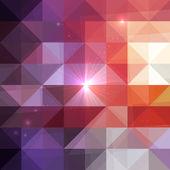 Triangles de géométrie abstraite brillant modèle — Vecteur