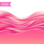 Pink liquid jelly abstract vector background — Stock Vector