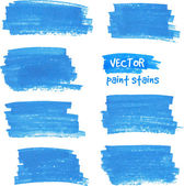 Vector spot of paint drawn by felt pen — Stock Vector